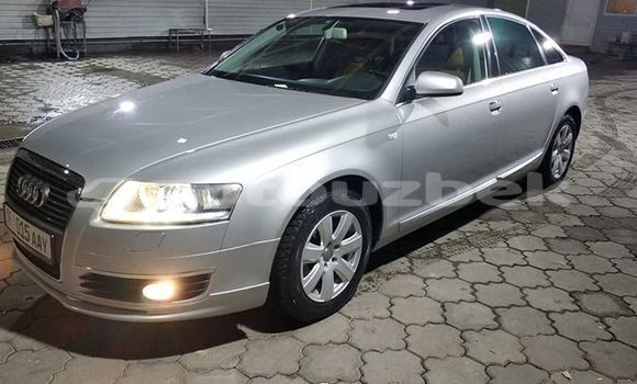 Buy Used Audi A6 Silver Car in Tashkent in Toskent