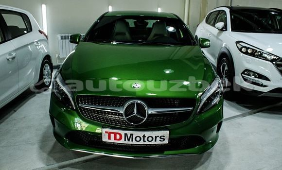 Buy Imported Mercedes‒Benz A–Class Green Car in Tashkent in Toskent