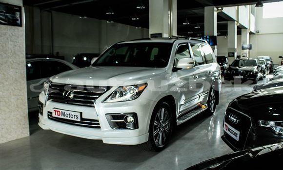 Buy Imported Lexus LX White Car in Tashkent in Toskent