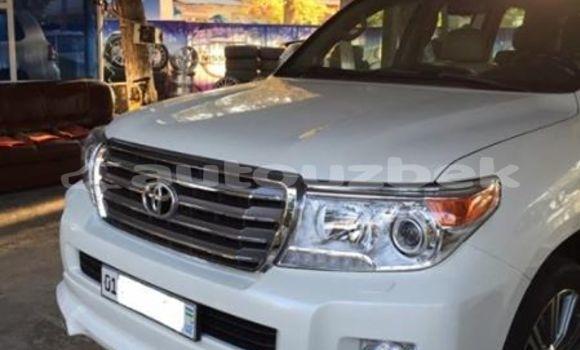 Buy Used Toyota Land Cruiser Prado White Car in Tashkent in Toskent